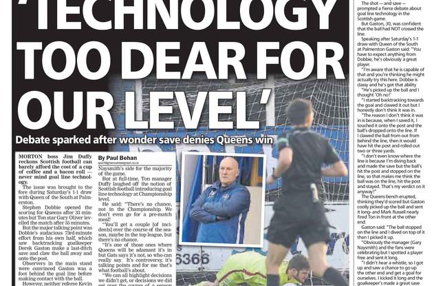 Greenock Telegraph, Monday 19th February