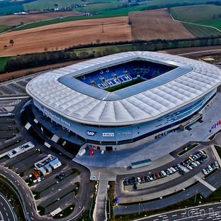 Rhein-Neckar-Arena der TSG Hoffenheim