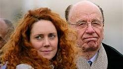 Rebecca Brooks and Rupert Murdoch
