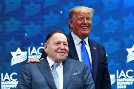 Here is Sheldon Adelson, who financed the development of the Act IL. app