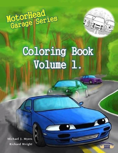 MotorHead Garage Series Coloring Book