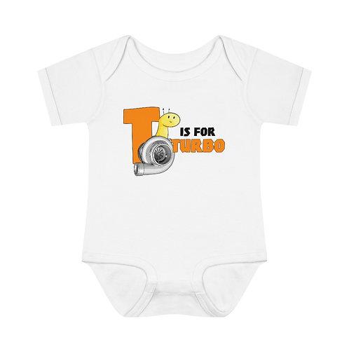 T is for Turbo Onesie