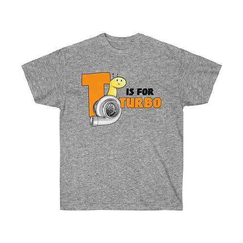 T is for Turbo Tee