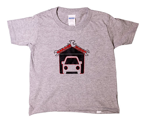 """Garage Buddy"" T-Shirt (Gray)"