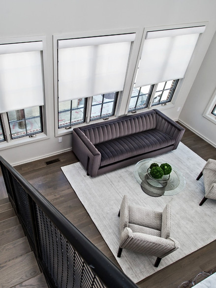 Interior design, private residence