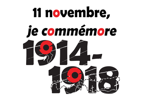 11 novembre, je commémore