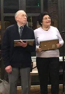 Jean-Claude BONHOMME et son épouse Piérina