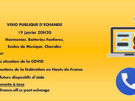 Visioconf publique d'échange - 19 janv. 20H30