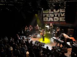 On tour in Baden, Switzerland