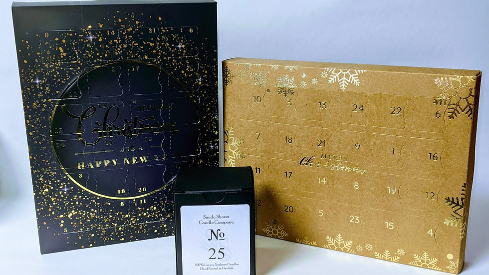 Luxury Handmade Wax Melt Christmas Advent Calendar
