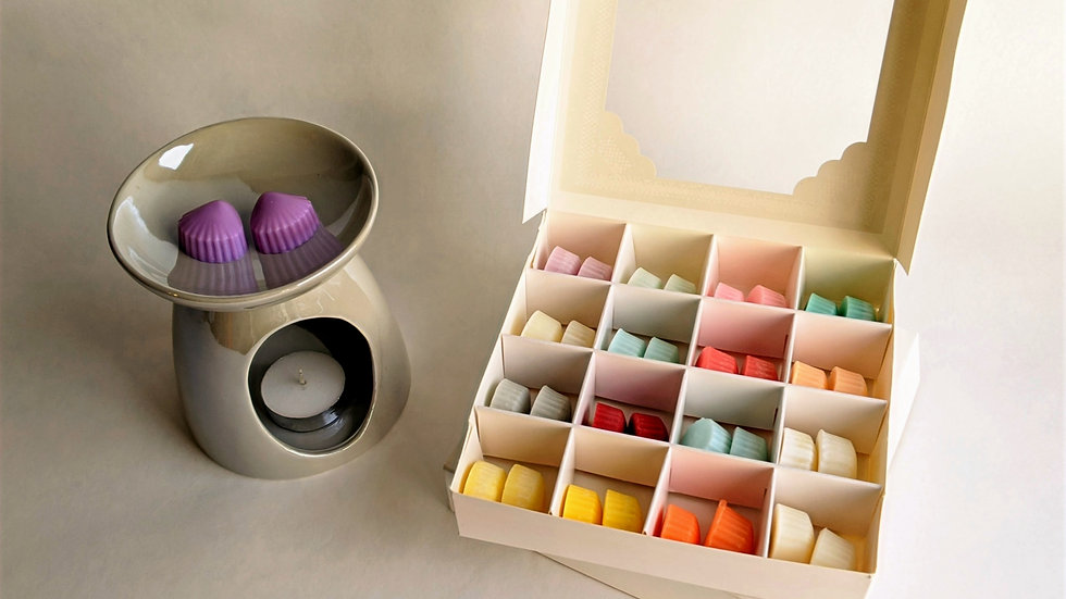Soy Wax Melts Sample Box