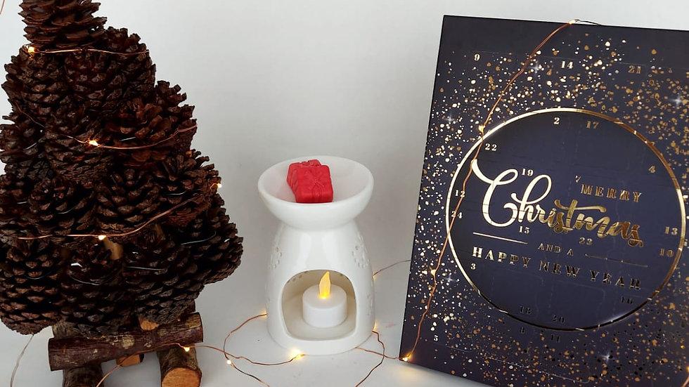 Luxury Handmade Wax Melt Christmas Advent Calendar