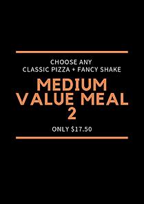 Plain Jane Medium Value Meal 2