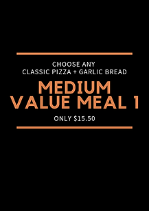 Plain Jane Medium Value Meal 1