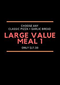 Plain Jane Large Value Meal 1