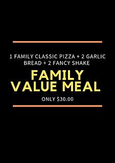 Plain Jane Family Value Meal