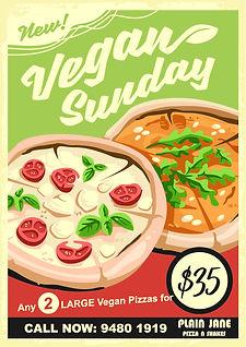 Plain Jane Vegan Sundays