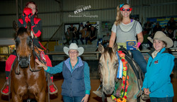 Neridah Leishman & Crown K Bronzed Hank Fresstyle Winners