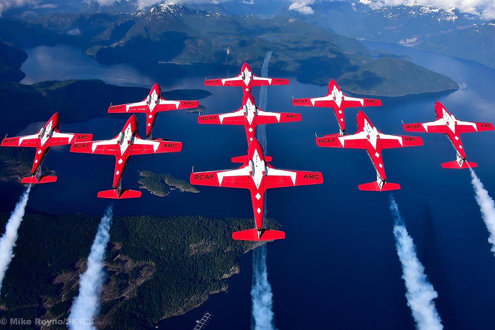 加拿大最壮观的空中飞行表演将在纳奈莫登场