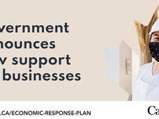 加拿大联邦政府继续为小企业大输血