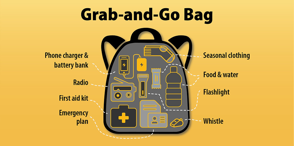 BC省府建议的急救背包