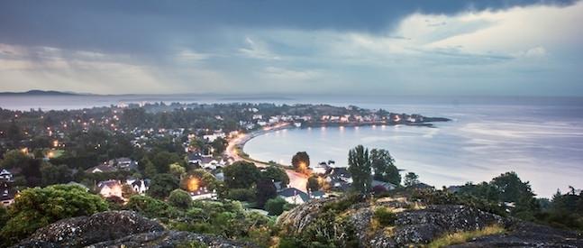 大维地区橡树湾被评为BC省最宜居住城市