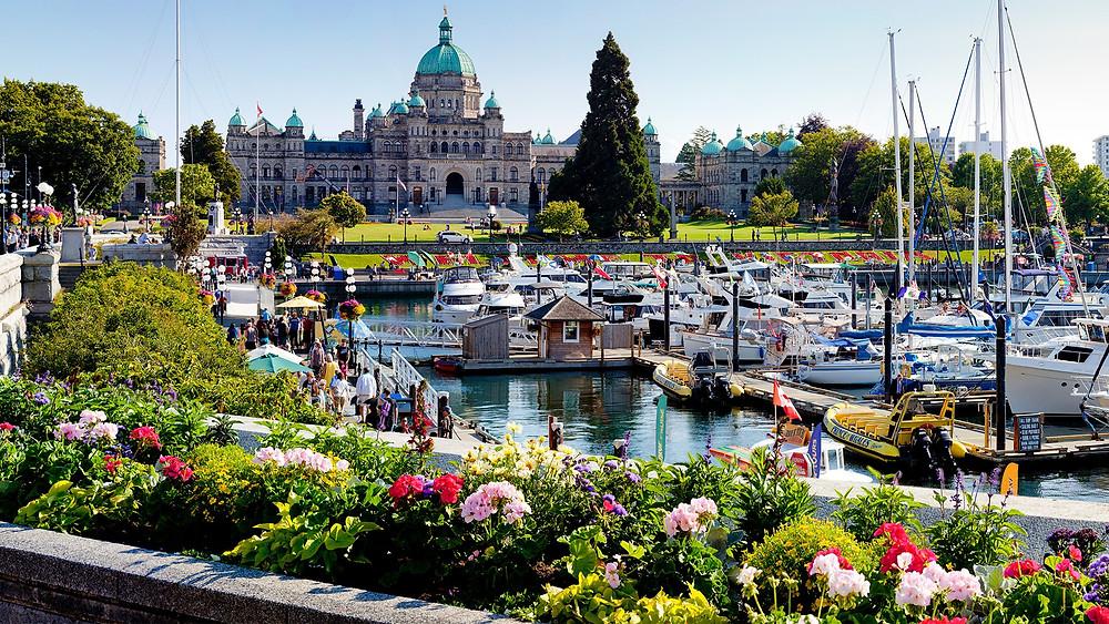 """维多利亚入选亚马逊排行榜 """"加拿大最浪漫城市"""""""
