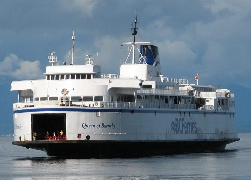 本拿比皇后号渡轮通过网络竞拍售出     图片来源:BC Ferries