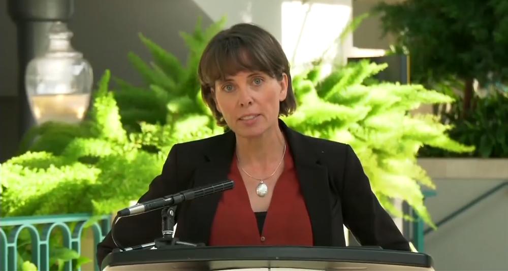 BC绿党新党领Sonia Furstenau  图源:BC Gov