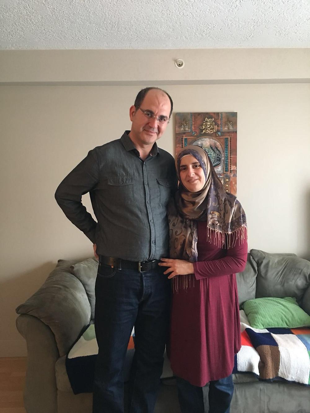 家住维多利亚、来自叙利亚的Ibahim Hajibrahim和Rnim Khochkar夫妇