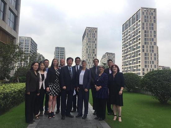 维多利亚市长Lisa Helps访中国