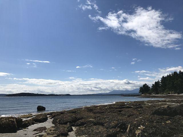 温哥华岛旅游之Protection Island。