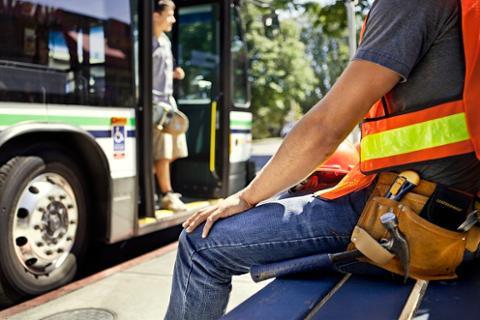 维多利亚市区公交专用道