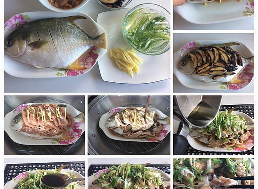 冬菇肉片蒸䱽魚-Winnie 食谱