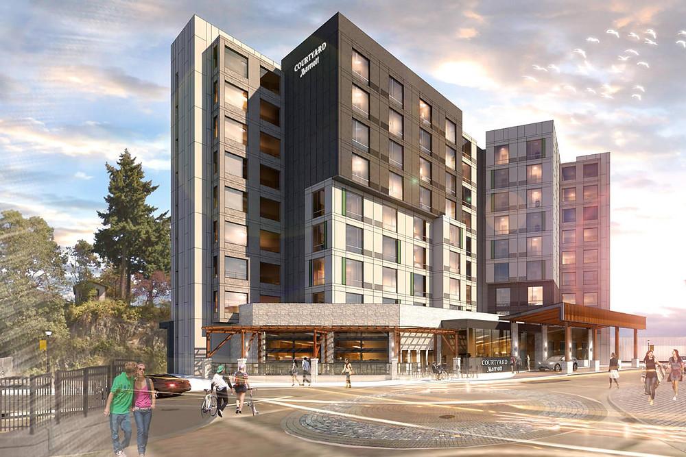 美国PEG公司纳奈莫新酒店设计图。图源:PEG Developments