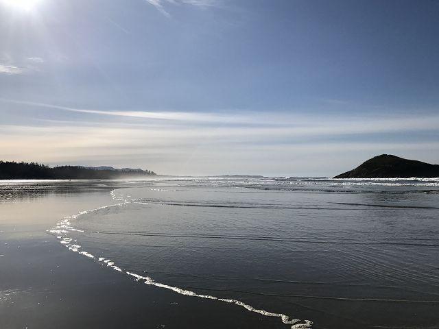 温哥华岛托菲诺长滩。