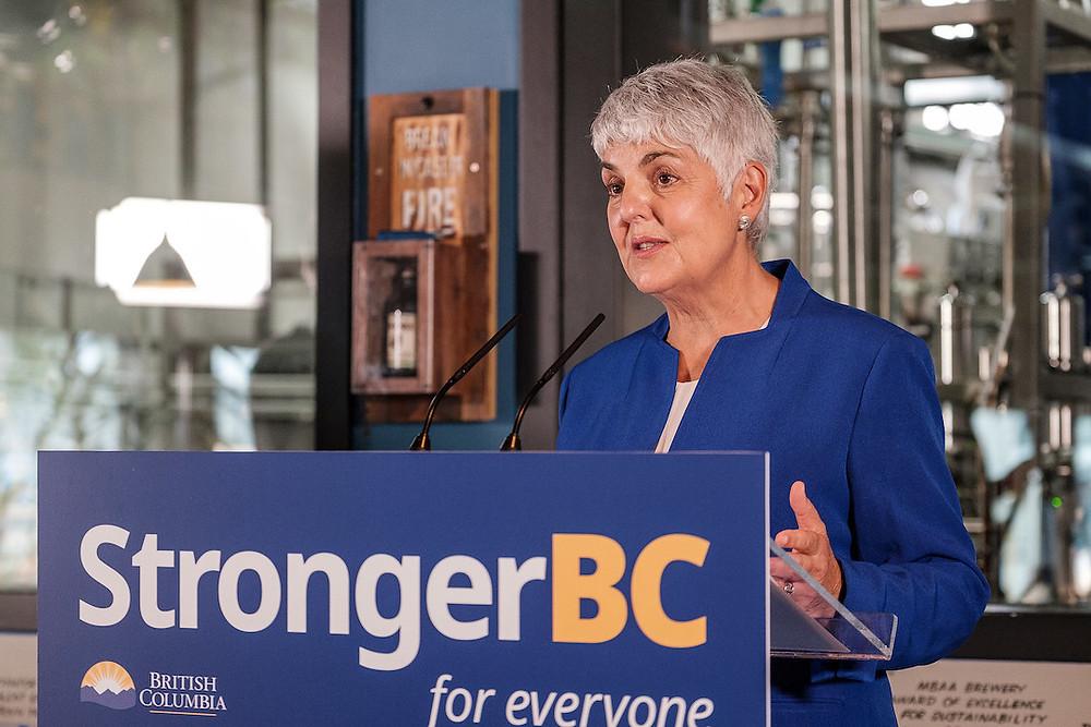 财政厅长 Carole James推BC省经济复兴计划