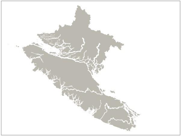 疫情期间温哥华岛卫生辖区内如何划分地理区域?