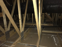 new build, builder forgot to insulate the whole attic