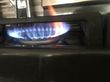 improper burn, not all the gas will be burnt and can vent into the living space if the ventilator isnt used.