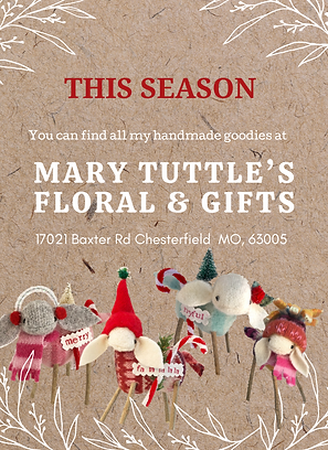 Give the gift of handmade this season! A