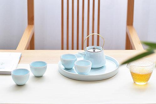 青瓷茶具套裝