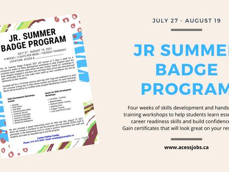 JR Summer Badge Program