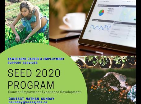 SEED 2020 Program