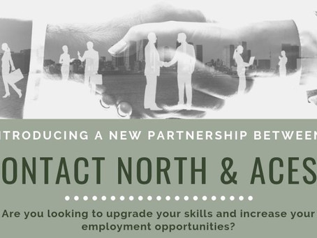 New Partnership w/ Contact North