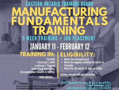 Manufacturing Fundamentals 2021