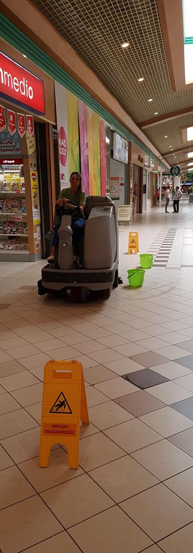 Gépi takarítás