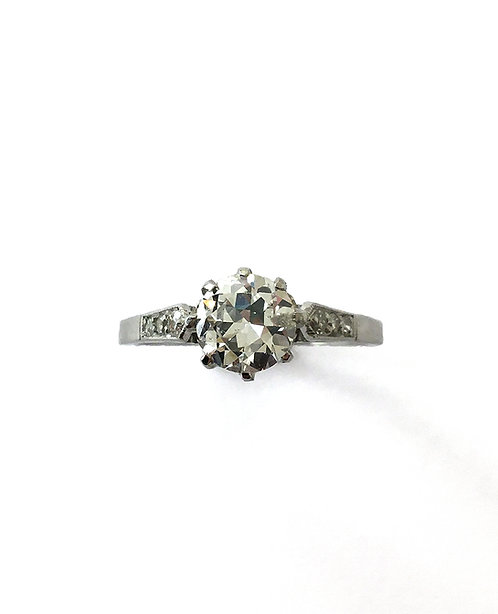 """Diamant–Ring """"For Ever"""" in Platin"""