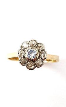 """Diamant-Ring """"Fiore"""""""
