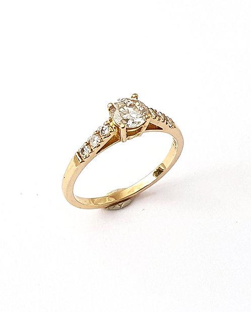 Brillant-Ring in Roségold